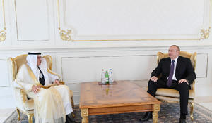 President Ilham Aliyev receives OIC Secretary General