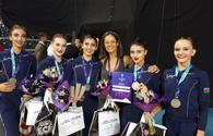 National gymnastics team grabs three medals