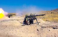 """Azerbaijan's Nakhchivan Separate Combined Arms Army holds military training <span class=""""color_red"""">[VIDEO]</span>"""