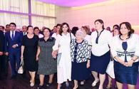 "Azerbaijan's First VP Mehriban Aliyeva attends event with IDPs <span class=""color_red"">[PHOTO]</span>"