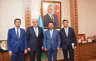 "Elmar Mammadyarov meets with President of Islamic Cooperation Youth Forum <span class=""color_red"">[PHOTO]</span>"