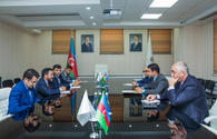 "OIC Youth Forum and Azerbaijan's SME Development Agency discuss potential projects <span class=""color_red"">[PHOTO]</span>"