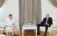 "President Ilham Aliyev receives delegation led by PACE president <span class=""color_red"">[UPDATE]</span>"