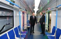 "President Ilham Aliyev views work done at Khatai station of Baku Metro <span class=""color_red"">[UPDATE]</span>"