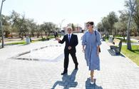"First VP Mehriban Aliyeva views newly-built recreation park in Kurdakhani <span class=""color_red"">[UPDATE]</span>"