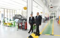 """President Ilham Aliyev inaugurates Baku State Vocational Education Centre on Industry and Innovation <span class=""""color_red"""">[UPDATE]</span>"""