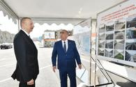 "President Ilham Aliyev attends opening of-reconstructed Ashug Molla Juma street, adjacent roads in Baku <span class=""color_red"">[UPDATE]</span>"
