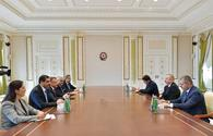 "President Ilham Aliyev receives Turkish vice president <span class=""color_red"">[PHOTO]</span>"