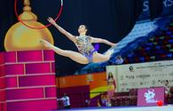 """Best moments of 2nd day of Rhythmic Gymnastics World Championships in Baku <span class=""""color_red"""">[PHOTO]</span>"""