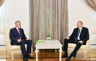 "President Ilham Aliyev receives State Secretary of Security Council of Belarus <span class=""color_red"">[UPDATE]</span>"