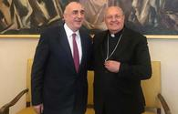 Azerbaijani FM meets Vatican Prefect of Congregation for Oriental Churches