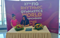 "Meeting with Aliya Garayeva held in National Gymnastics Arena in Baku <span class=""color_red"">[PHOTO]</span>"