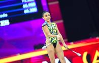 "Azerbaijani gymnasts supported each other at World Championships <span class=""color_red"">[PHOTO]</span>"