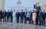 Azerbaijani delegation joins 34th CIS Council for Cultural Cooperation meeting
