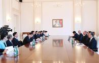 "Ilham Aliyev receives delegation from National People's Congress of China <span class=""color_red"">[UPDATE]</span>"