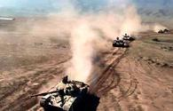 """Azerbaijani army conducts main live-fire stage of large-scale drills <span class=""""color_red"""">[PHOTO/VIDEO]</span>"""