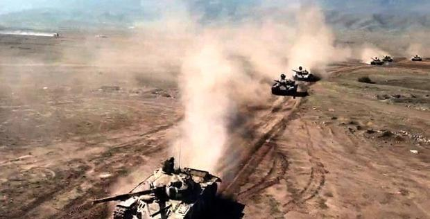"Azerbaijani army conducts main live-fire stage of large-scale drills <span class=""color_red"">[PHOTO/VIDEO]</span>"