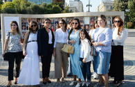 """Heydar Aliyev Foundation VP attends opening of photo exhibition on multicultural values of Azerbaijan <span class=""""color_red"""">[PHOTO]</span>"""