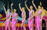 Final day of the 37th Rhythmic Gymnastics World Championship in Baku