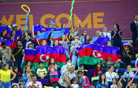 """Highlights of World Championships in Baku - spectators in stands <span class=""""color_red"""">(PHOTO)</span>"""