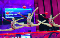 "Best moments from final day in 37th Rhythmic Gymnastics World Championships in Baku <span class=""color_red"">(PHOTO)</span>"