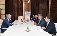 "Azerbaijani Minister of Youth and Sports meets Russian counterpart <span class=""color_red"">[PHOTO]</span>"