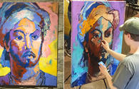 """Nasimi inspires Swedish artist <span class=""""color_red"""">[PHOTO]</span>"""