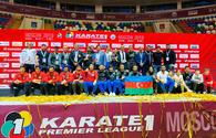 Azerbaijan wins gold medals at Karate-1 Premier League