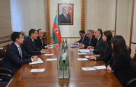 Azerbaijani FM receives newly appointed Kazakh envoy