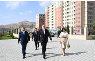 "Azerbaijani president, First Lady inaugurate Gobu Park-2 residential complex for IDPs <span class=""color_red"">[UPDATE]</span>"