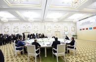 """President Aliyev attends CIS Heads of State Council's session in limited format in Ashgabat <span class=""""color_red"""">[UPDATE]</span>"""