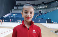 Athlete from Azerbaijan's Sumgait city glad to perform in National Gymnastics Arena
