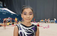 Young Azerbaijani gymnast: Audience's support encourages during competitions