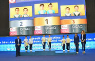 "Winners of championships in rhythmic, aerobic gymnastics awarded in Baku <span class=""color_red"">[PHOTO]</span>"