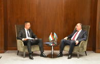 "Azerbaijani FM meets Hungarian minister of foreign affairs and trade <span class=""color_red"">[PHOTO]</span>"