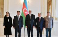 "President Ilham Aliyev receives credentials of incoming Kazakh ambassador <span class=""color_red"">[UPDATE]</span>"