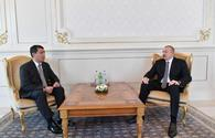 "President Ilham Aliyev receives credentials of incoming Kazakh ambassador <span class=""color_red"">[PHOTO]</span>"
