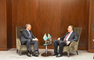 "Azerbaijani, Kazakh FMs meet on sidelines of Turkic Council summit in Baku <span class=""color_red"">[PHOTO]</span>"