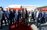 "Turkish President Recep Tayyip Erdogan arrives in Azerbaijan for visit <span class=""color_red"">[PHOTO]</span>"