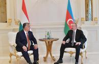 "Azerbaijani president meets with Hungarian PM <span class=""color_red"">[UPDATE]</span>"