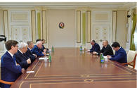 President Ilham Aliyev receives OSCE Minsk Group co-chairs