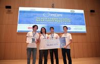 NASA's International Space Apps Challenge hackathon finishes in Baku
