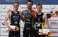 Azerbaijani triathlete wins European gold
