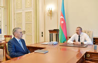 "President Aliyev receives Deputy Prime Minister Ali Hasanov as he submitted his resignation letter <span class=""color_red"">[UPDATE]</span>"
