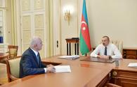 "President Aliyev receives Shahin Mustafayev in connection with his appointment to new post <span class=""color_red"">[UPDATE]</span>"