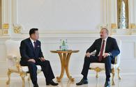 "Azerbaijani president receives senior N.Korean official <span class=""color_red"">[UPDATE]</span>"