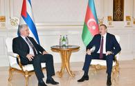 "Azerbaijani president meets with president of Cuba <span class=""color_red"">[UPDATE]</span>"