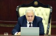 Speaker inks decision on appeal to Azerbaijani president for early parliamentary elections