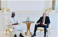 "President Ilham Aliyev receives President of UN General Assembly Tijjani Muhammad-Bande <span class=""color_red"">[PHOTO]</span>"