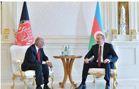"President Ilham Aliyev meets Afghan President Mohammad Ashraf Ghani <span class=""color_red"">[UPDATE]</span>"